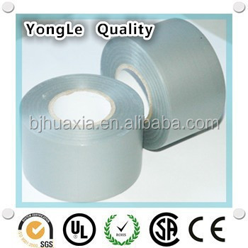 custom printed UPC approved many colors pipe wrapping tape / pvc adhesive tape for gas pipe