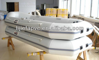Inflatable River Boat with Plywood Floor