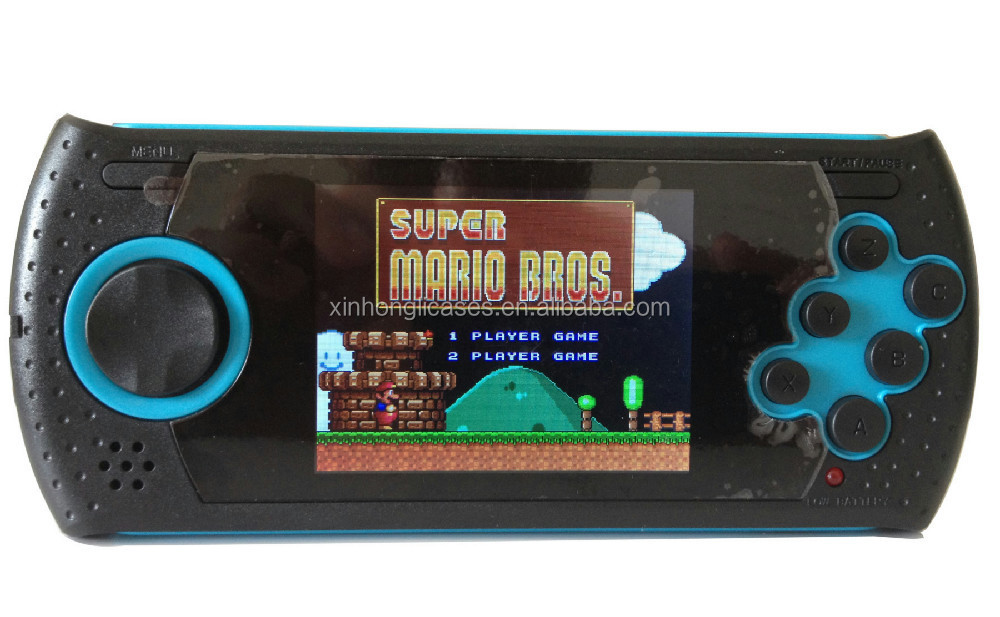 16 Bit Handheld Game Player Handheld Entertainment Console Built In 100 Games