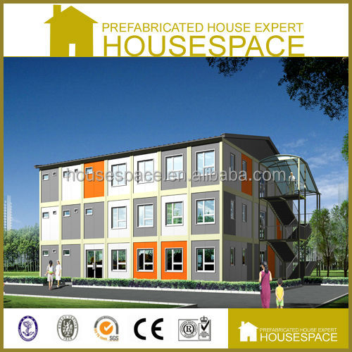 Fast Build Panelized Movable Flat Pack Container house for Hotel Motel