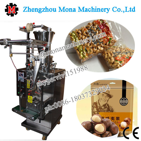 Hot selling plastic bag automatic vffs cashew nut packing machine price suitable for small new business