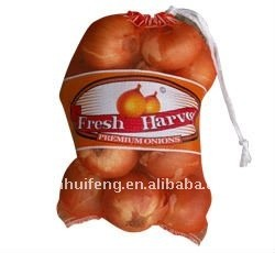 My test 2016 new style Fruit vegetable packaging net fruit dilly bag