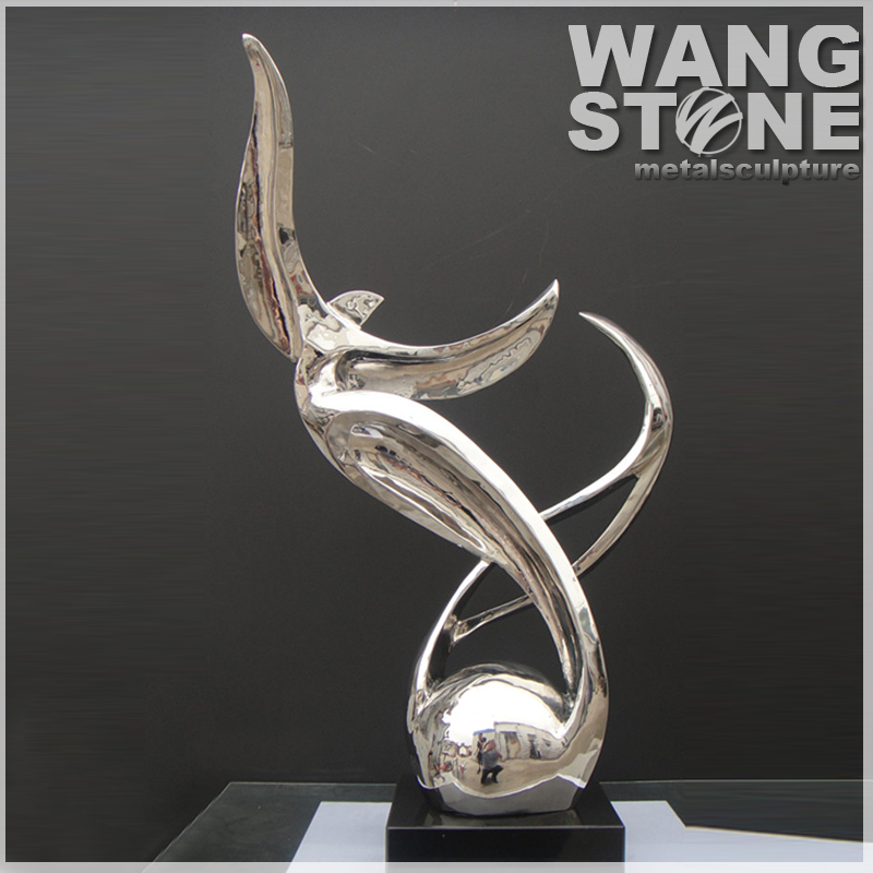 Abstract Stainless Steel Modern Metal Art Sculptures