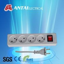 German alibaba 4-outlet power strip