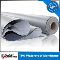 TPO single ply roofing system roofing membrane