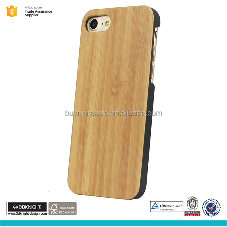 New arrival wood phone case bamboo phone case for iphone 7 case wholesale