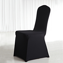 Cheap White Dining Banquet Wedding Spandex Chair Covers 1.00 and Tablecloth