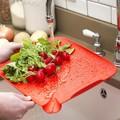 sink drop Multifunction thin plastic Cutting Board