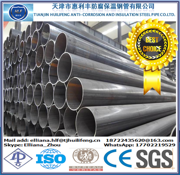 ERW Steel Pipe API Gr.B,X42,X46,X52,X56,X60,X65,X70 PSL1 From China Top Pipe