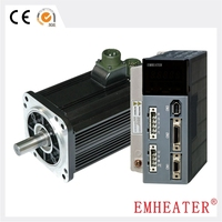 220V 110 seires 1.57kW 6N.m 2500RPM AC servo motor and driver system