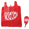 210d vest polyester folding bag with hang pouch