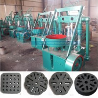 Hot sasle! Honeycomb coal briquette molding machine