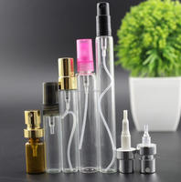 Novelty 5ml 10ml 15ml 20ml glass spray bottle with atomizer for perfume,essential oil,glass cosmetic bottle