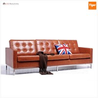 barcelona chair style modern design sofa