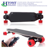 2016 HTOMT Wholesale wheel motor Drop shipping electric skateboard long Boosted board for sale