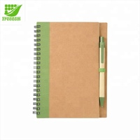 Eco Friendly Customized Logo Printed Recycled Notepad