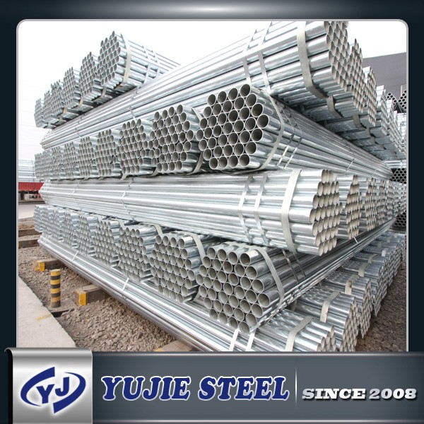 ZINC 20-400G ASTM A53 CUSTOMIZED ZINC COATED HOLLOW PIPE
