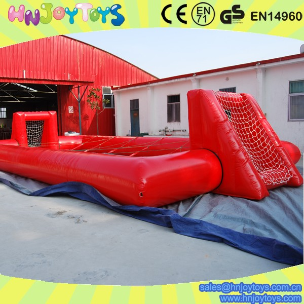 inflatable pool table soccer, large inflatable soccer arena on sale