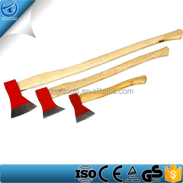 Hand tool wooden handle fire man ax