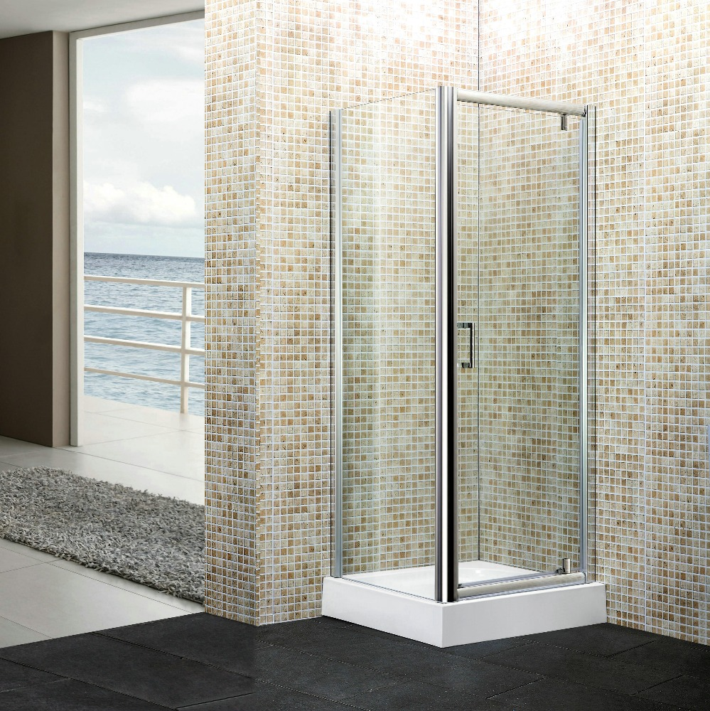 simple shower screen,Manufacturer China shower enclosures,Cheap Small hingle shower cabin S266F