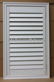 High Quality pvc Louvers window/window blind