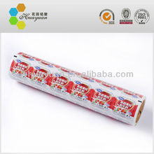 food grade plastic packaging roll film