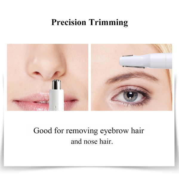 New arrival 2 in 1 Water resistant nose trimmer hair removal for men and women