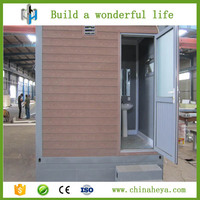 China portable 20ft container mobile toilet in guangdong