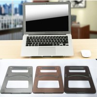 Modern ergonomic design laptop notebook mount desk holder for tavel use