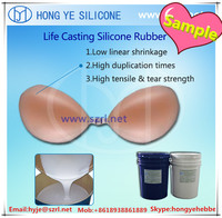 Medical Grade Silicone Rubber for fake breast