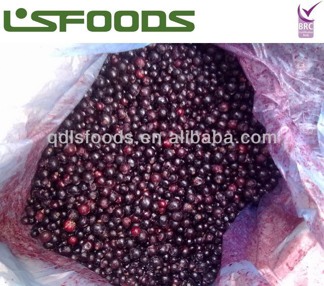 IQF frozen black currant good color