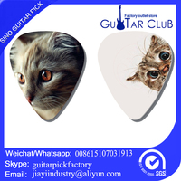 Wholesale small lovely custom guitar picks plectrums electric pick