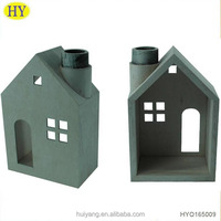 small decorative house kit frame handmade wood craft ornament