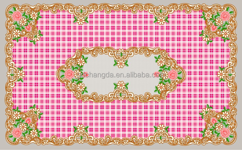 pvc table cover, plastic tablecloth