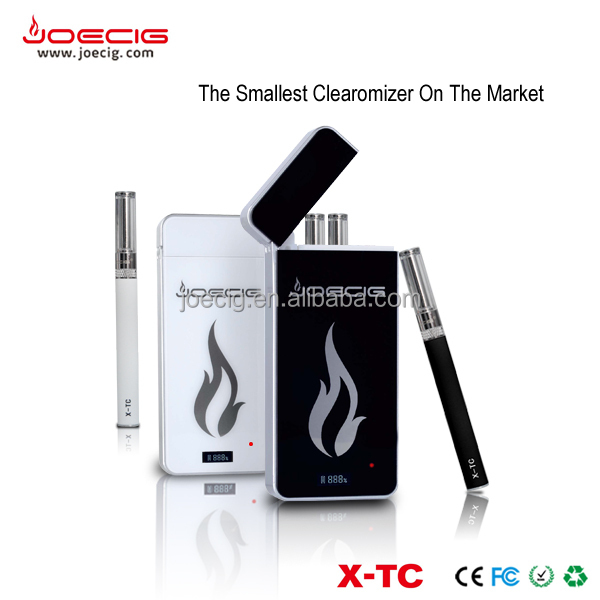 China online shopping mini ecig cartomizer, 95mah batteries, e cigarette PCC starter kit