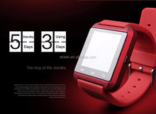 Cheapest wrist watch mobile phone smart watch 2015 android and ios smart watch wholesale goods in Alibaba China