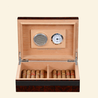 OEM Accepted Wooden Humidor Wooden Cigar