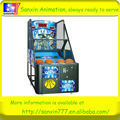 2018 newest coin operated hot sale electronic basketball game machine