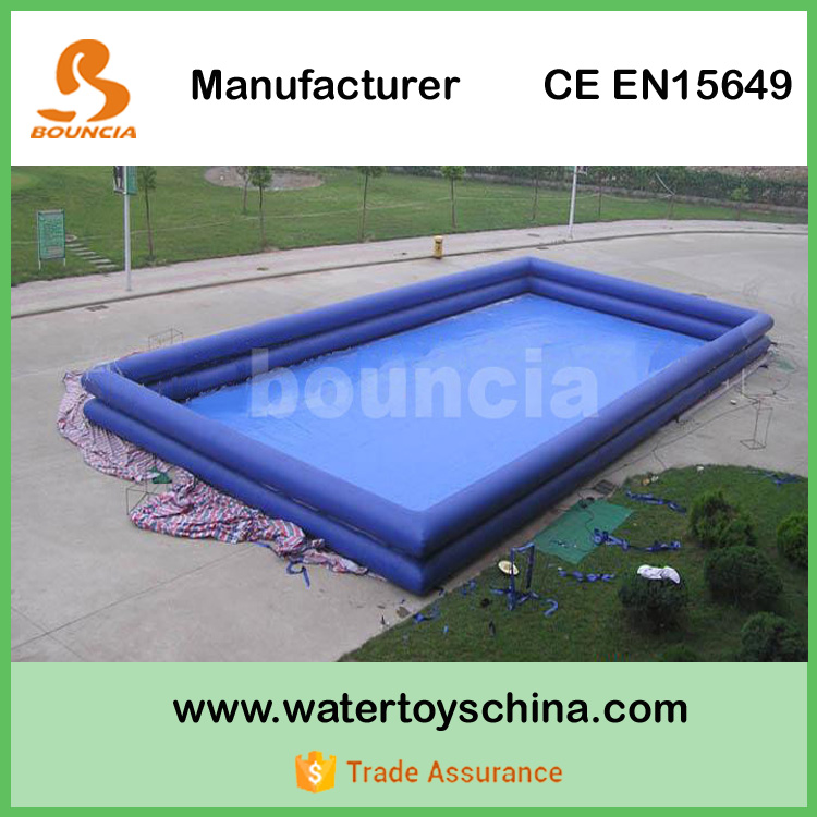 0.9mm PVC Tarpaulin Adult Inflatable Pool With Ladder