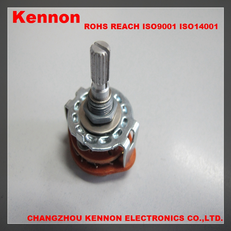 rotary switch 12 position selector switch 4 pole 3 position 4 position