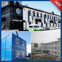 modified container hotel ready made for sale 3D design provided