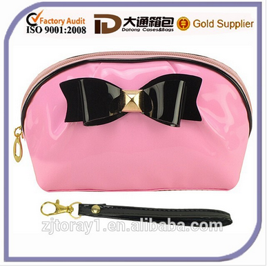 2016 Bowknot Wholesale Women Fashion Cosmetic Pouch