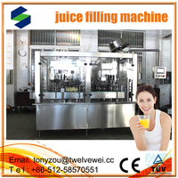 Perfect Sale Buy Twelve wei Automatic 304 Stainless Steel Apple Juice Filling Machinery automatic 3 in1 juce filling machine