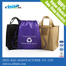 2015 new style comfortable drawsting bag for shopping bag