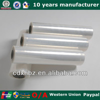 Hot Film Clear LDPE Stretch Film Plastic Roll