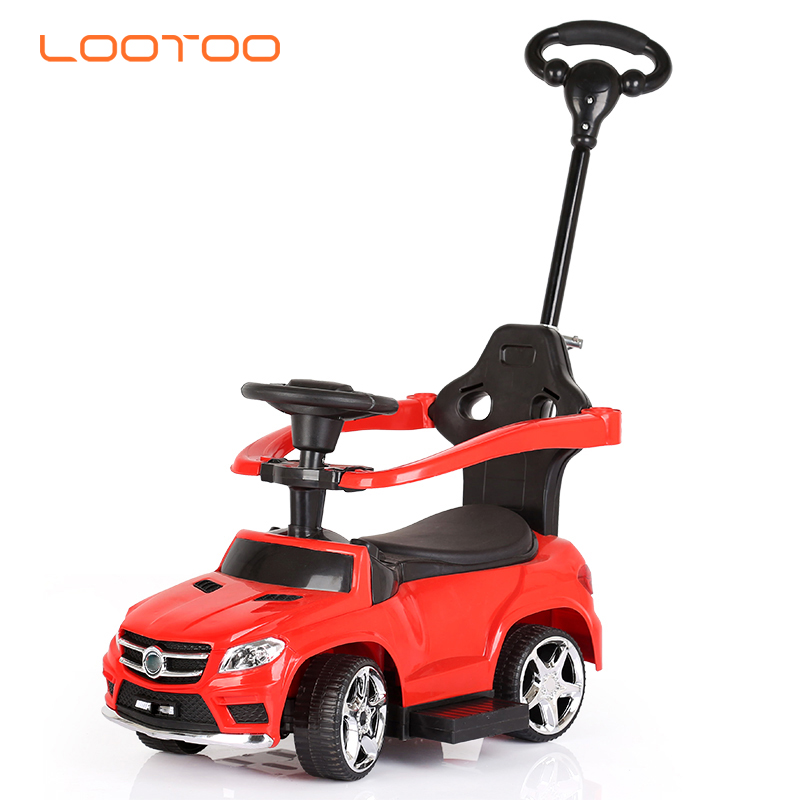 Newest model 3 in 1 parent push infant toy car / kids mechanical car / baby play car