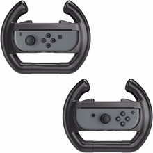 Gamepad Left and Right Racing Game Steering Wheel for Nintendo Switch Joy-Con Controller Grips Cover