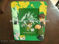 Fashion Soft PVC Picture frame with Ben 10 character