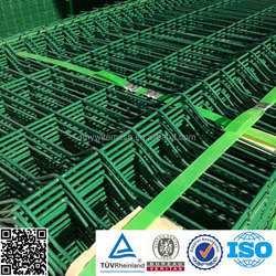 Factory For Garden galvanized and pvc coated welded wire mesh fence