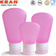 Wholesale high quality personalized mini special silicone spa body wash bottle